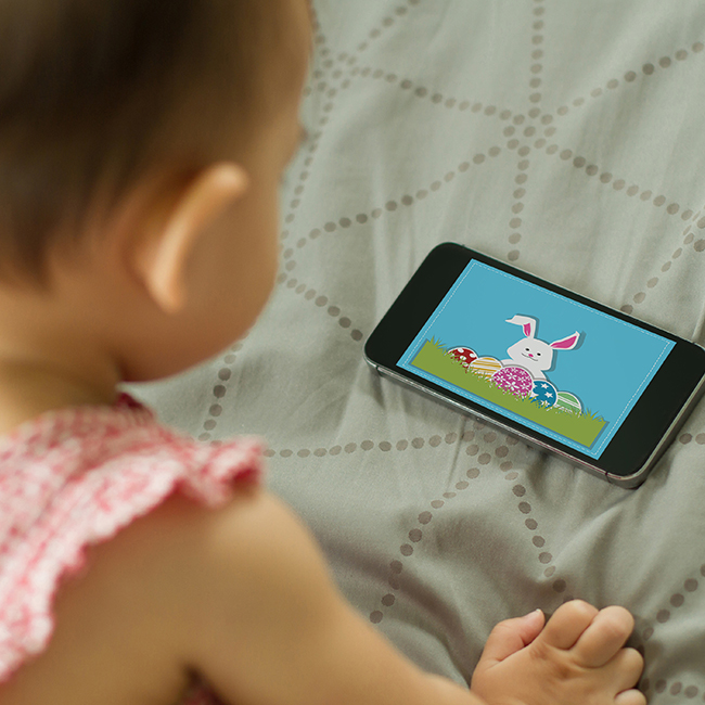 Etude sur l'effet de l'exposition aux écrans sur le développement des enfants de 6 à 36 mois